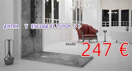 En esta sección encontrarás Platos de Ducha de gran calidad, Platos de Ducha fabricados en España, con rejilla, con desagüe oculto, enmarcados, semi enmarcados, y Platos de Ducha a Medida.