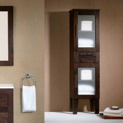Mueble auxiliar ba o de pie 162 cm armario de la serie de ba o beas - Mueble auxiliar bano barato ...