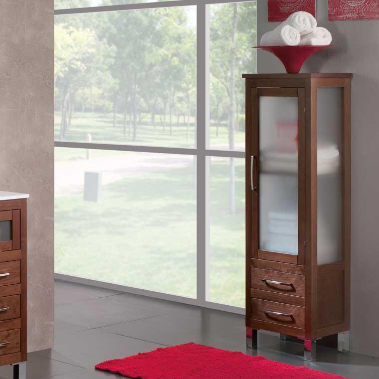 Mueble auxiliar ba o de pie 137 cm armario de la serie de - Bano de pies ...