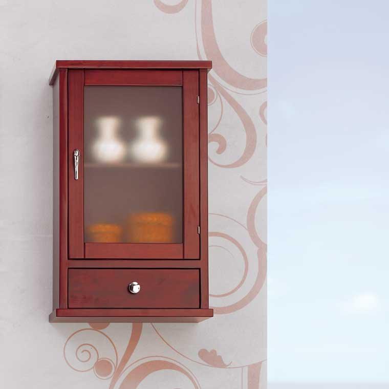 mueble auxiliar ba o de colgar coral armario de la serie