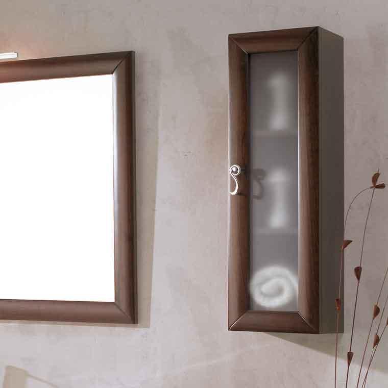Mueble auxiliar ba o colgar estefan a de la serie de ba o for Muebles para colgar en el bano