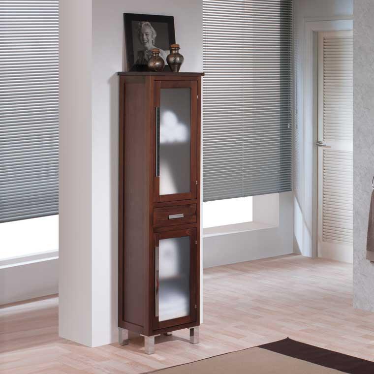 Mueble auxiliar ba o de pie mar armario de la serie de for Mueble auxiliar lavabo