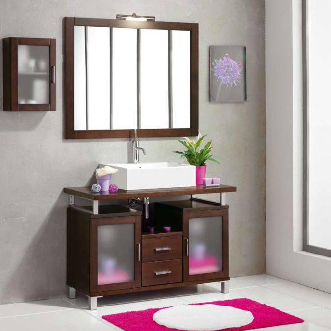 Mueble de Baño Alba de 100 x 45 cm.
