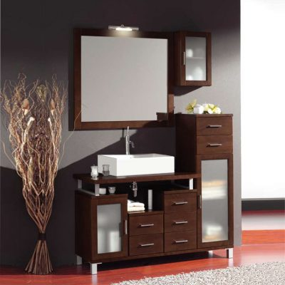 Mueble de ba o alba de 120 x 45 cm muebles de ba o alba for Mueble 45 cm ancho