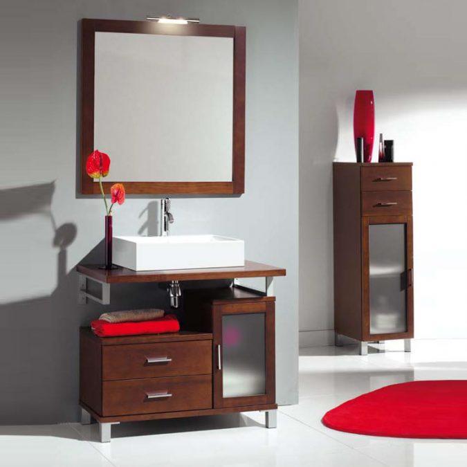 Mueble de Baño Alba de 80 x 45 cm.