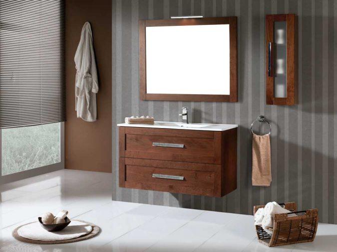 Mueble de Baño Anabel de 100 x 45 cm. Suspendido. Ambiente
