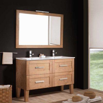 Mueble de ba o araceli 100 cm mueble de la serie de ba o for Muebles de bano 60 x 45