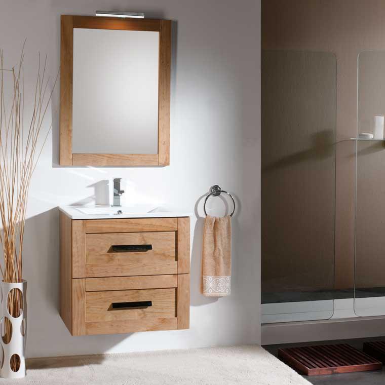 Mueble de ba o anabel 60 cm suspendido de la serie de - Muebles de bano de 60 cm ...