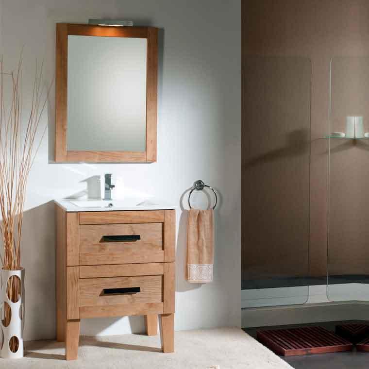 Mueble de ba o anabel 60 cm mueble de la serie de ba o for Mueble bano 75 cm