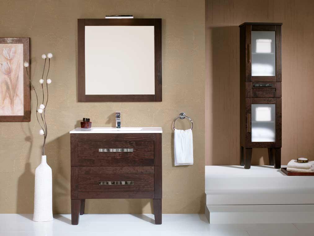 Mueble de ba o anabel 80 x 45 cm mueble de la serie de for Muebles de bano de 50 cm
