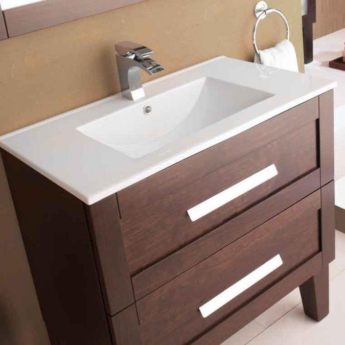Detalle Encimera Muebles de Baño Anabel