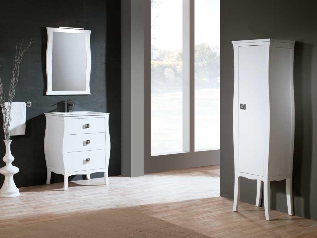 Mueble de ba o araceli 60 cm mueble de la serie de ba o for Muebles de lavabo de 60 cm