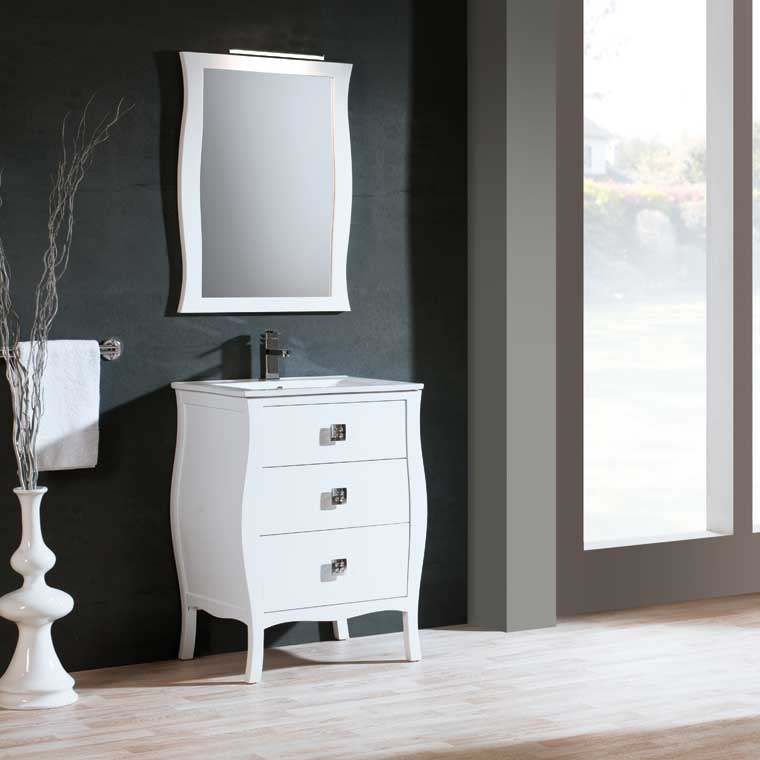 Mueble de ba o araceli 60 cm mueble de la serie de ba o - Muebles de bano de 60 cm ...