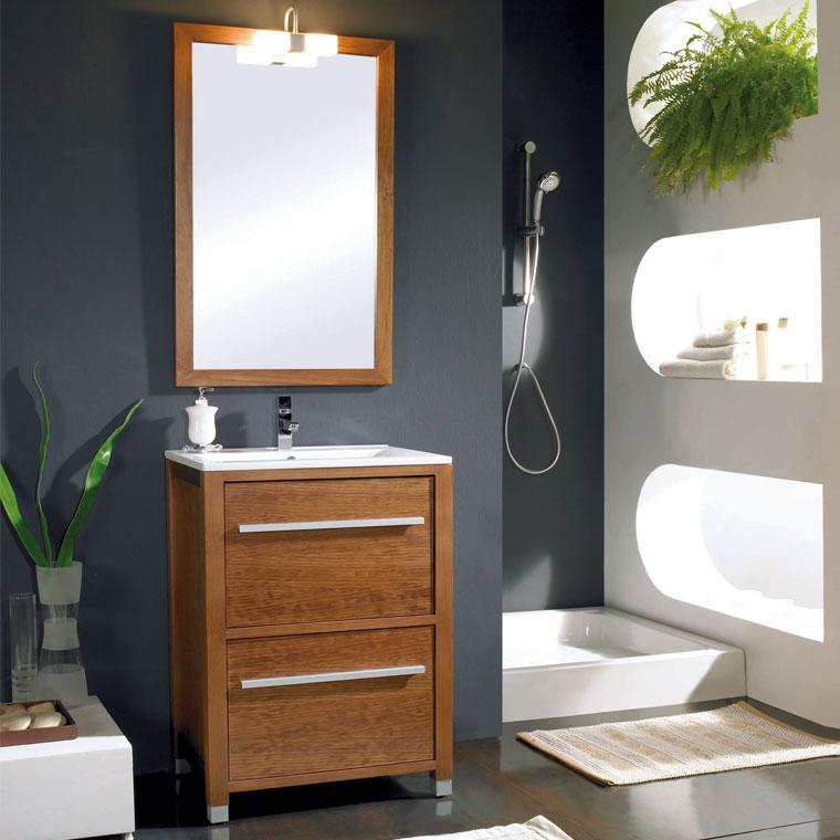 Mueble de ba o ares 60 x 45 cm mueble de la serie de ba o for Mueble 45 cm ancho