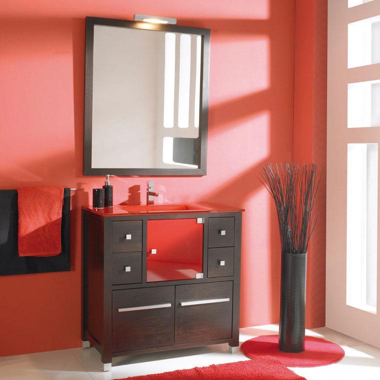 Mueble de ba o ares 80 x 45 cm mueble de la serie de ba o for Mueble 45 cm ancho