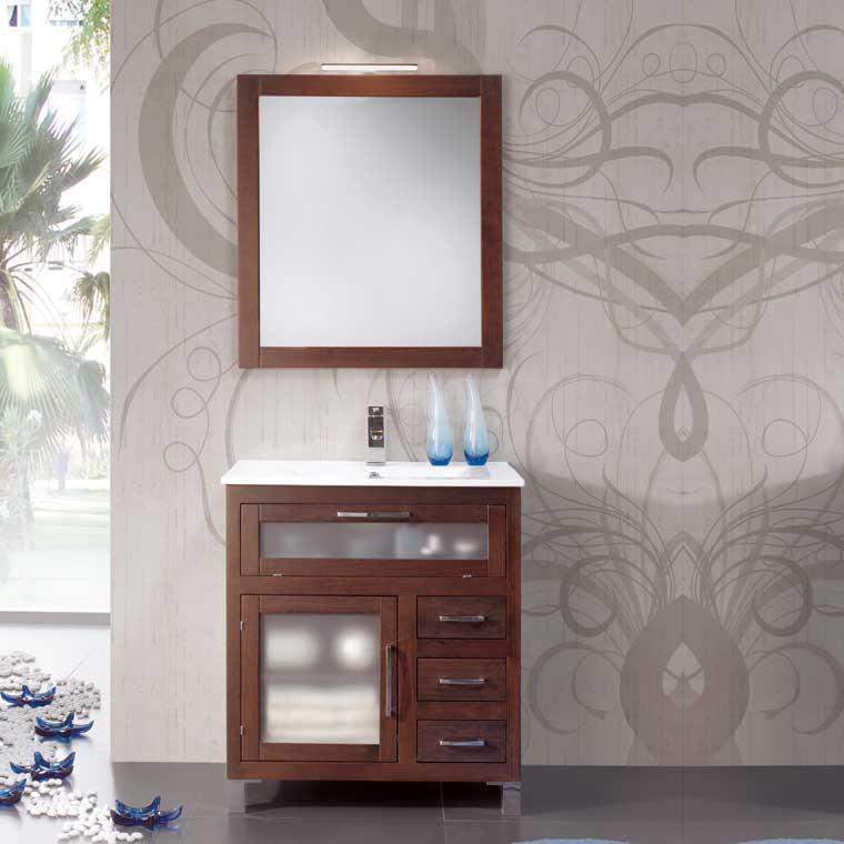 Mueble de ba o beas de 70 x 45 cm mueble de la serie de - Muebles de bano rusticos online ...