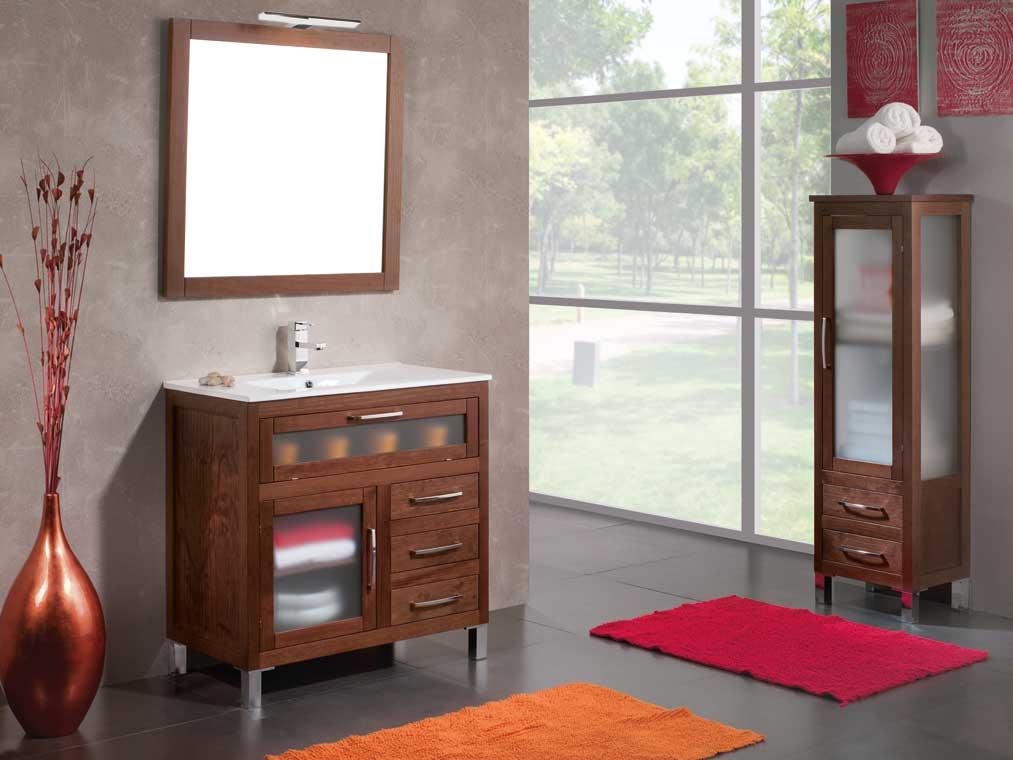 Mueble de ba o beas 80 cm muebles de ba o beas - Muebles de bano rusticos online ...