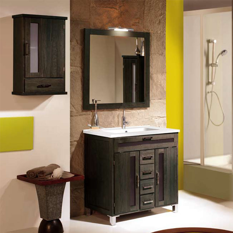 Mueble de ba o borgia 80 x 45 cm muebles de ba o borgia for Muebles de bano 60 x 45