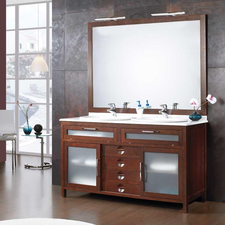Mueble de ba o carde as 140 cm mueble de la serie de ba o for Muebles de lavabo de 60 cm