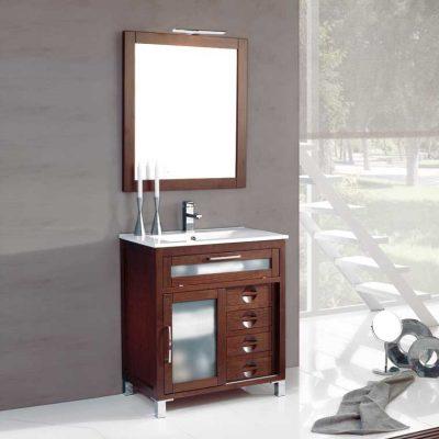 Mueble de ba o araceli 100 cm mueble de la serie de ba o for Mueble recibidor 70 cm