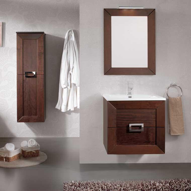 Mueble de ba o carla de 60 cm mueble de la serie de ba o - Muebles de bano de 60 cm ...