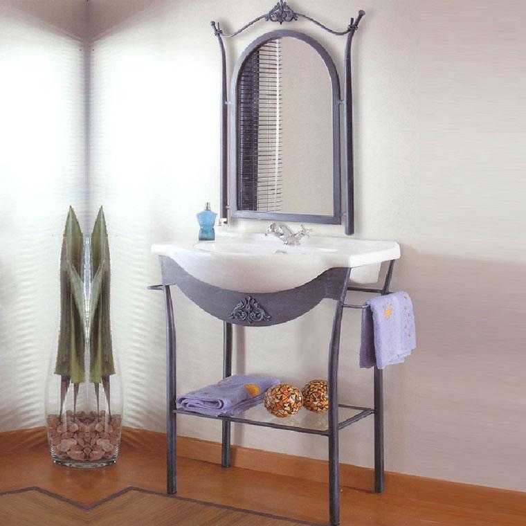baño de forja mueble de baño forja coni 65 cm