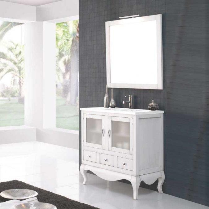 Mueble de Baño Coral 80 cm.