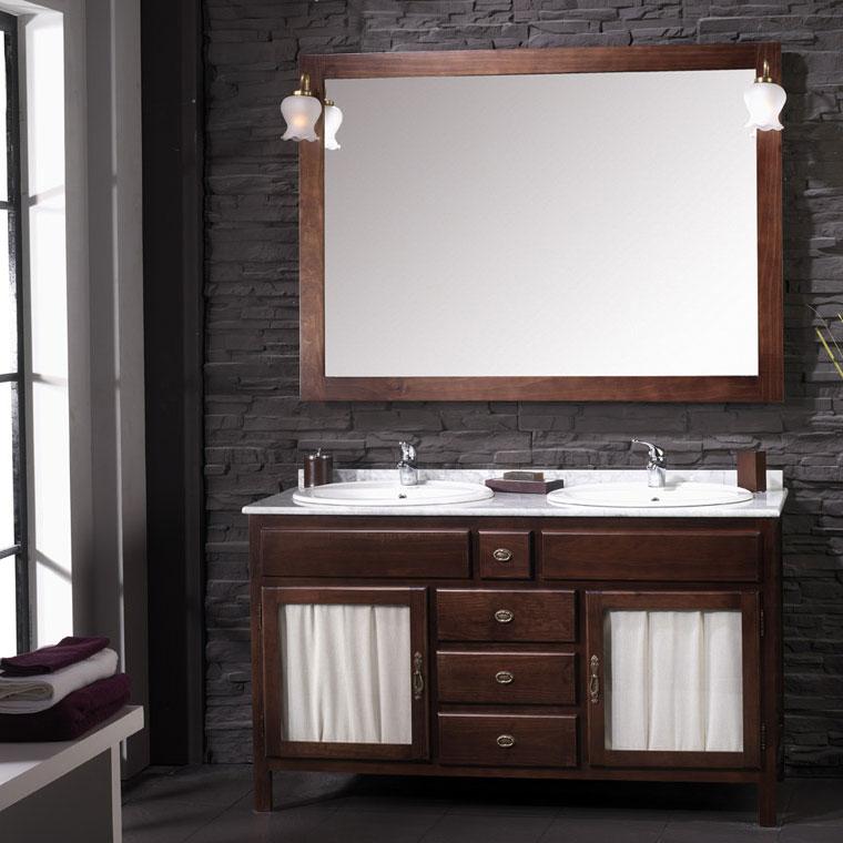 Muebles de ba o r sticos venta online mudeba for Muebles rusticos de madera para banos