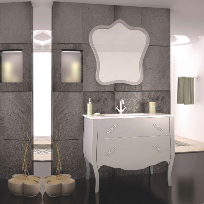 Mueble de Baño Decó 125 x 45 cm.Mueble de Baño Decó 125 x 45 cm.