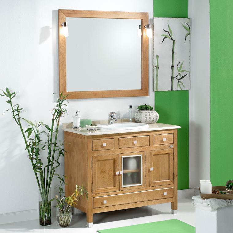 Mueble de ba o gaud 100 x 55 cm mueble de la serie de for Mueble 55 cm ancho