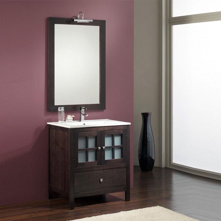 Mueble de ba o gredos 60 x 40 cm muebles ba o gredos - Muebles de bano rusticos online ...