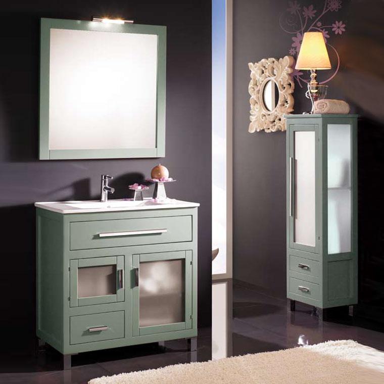Mueble de ba o laura de 80 x 45 cm muebles de ba o laura for Muebles laura