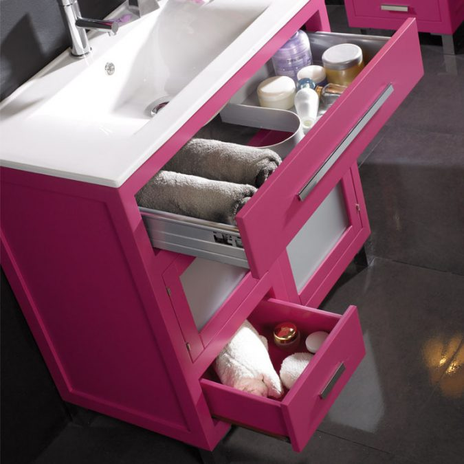 Detalle Muebles de Baño Laura