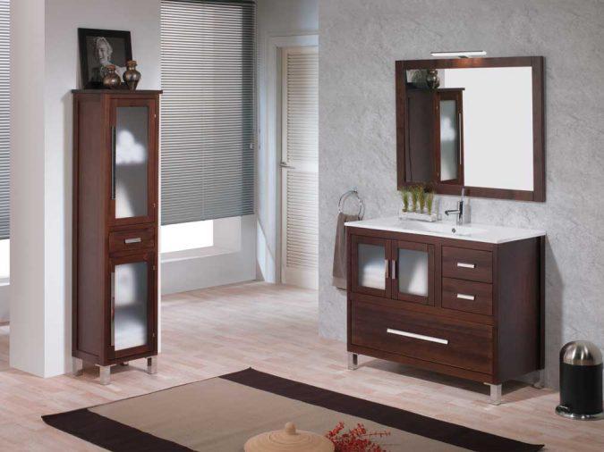 Ambiente Mueble de Baño Mar 100 cm.