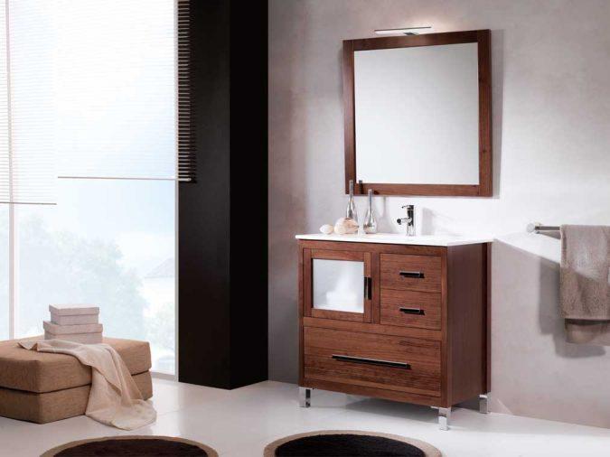 Ambiente Mueble de Baño Mar 80 cm.