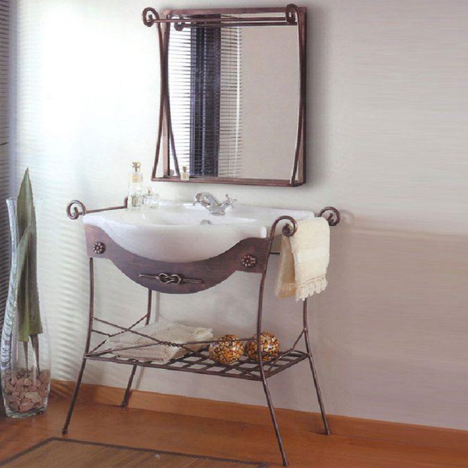 Mueble de Baño Nudo 90 x 36 cm.