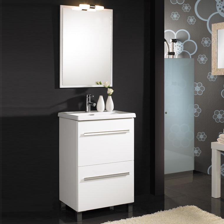 Mueble de ba o olaya de 50 x 40 cm muebles de ba o olaya for Muebles altos de bano