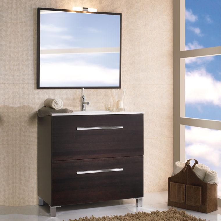Mueble de ba o olaya de 80 x 45 cm muebles de ba o olaya for Mueble 45 cm ancho