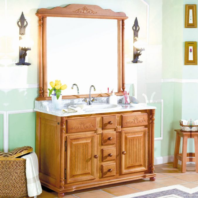 Mueble de Baño Olimpo 120 x 55 cm.