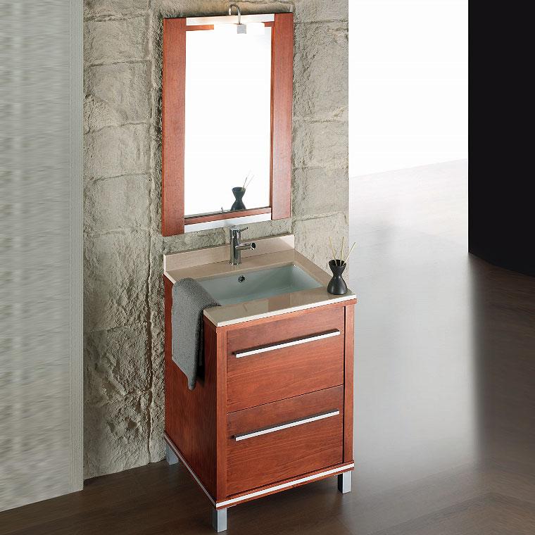 Mueble de ba o poseid n suelo 60 cm n 3 de la serie de for Mueble 50 cm alto