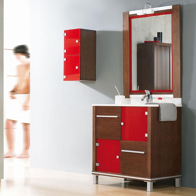 Foto mueble de ba o poseid n suelo 80 cm n 1 mudeba for Mueble 50 cm alto