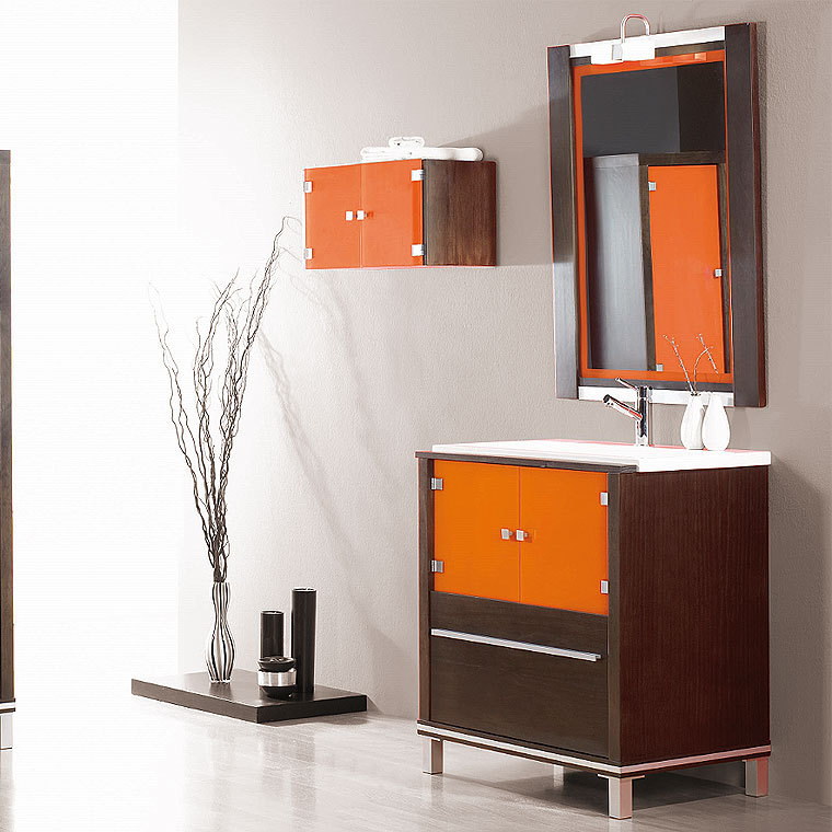 Mueble de ba o poseid n suelo 80 cm n 2 de la serie de - Suelos de bano ...