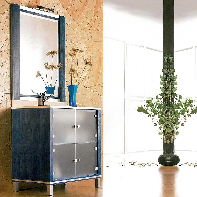 Mueble de ba o poseid n suelo 80 cm n 3 de la serie de for Mueble bano 50 cm ancho