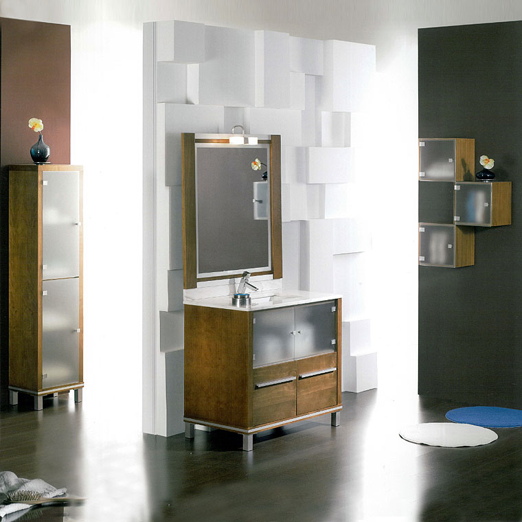 Mueble de ba o poseid n suelo 90 cm n 1 de la serie de - Suelos de bano ...