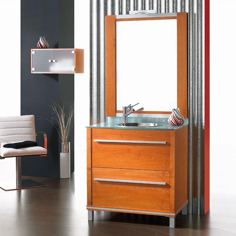 Mueble de ba o poseid n suelo 90 cm n 3 de la serie de for Mueble bano 50 cm ancho