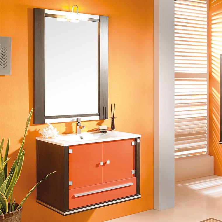 mueble de ba o poseid n suspendido 75 cm de la serie de