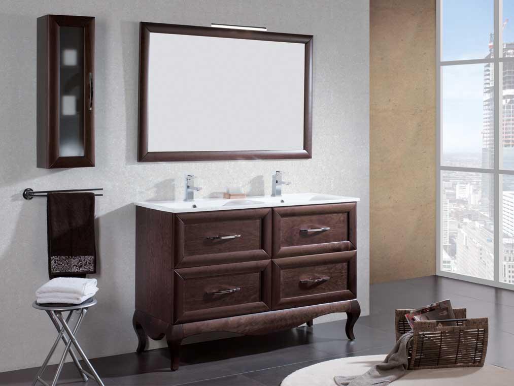 Mueble de ba o ren de 120 cm mueble de la serie de ba o - Muebles de bano 120 cm ...
