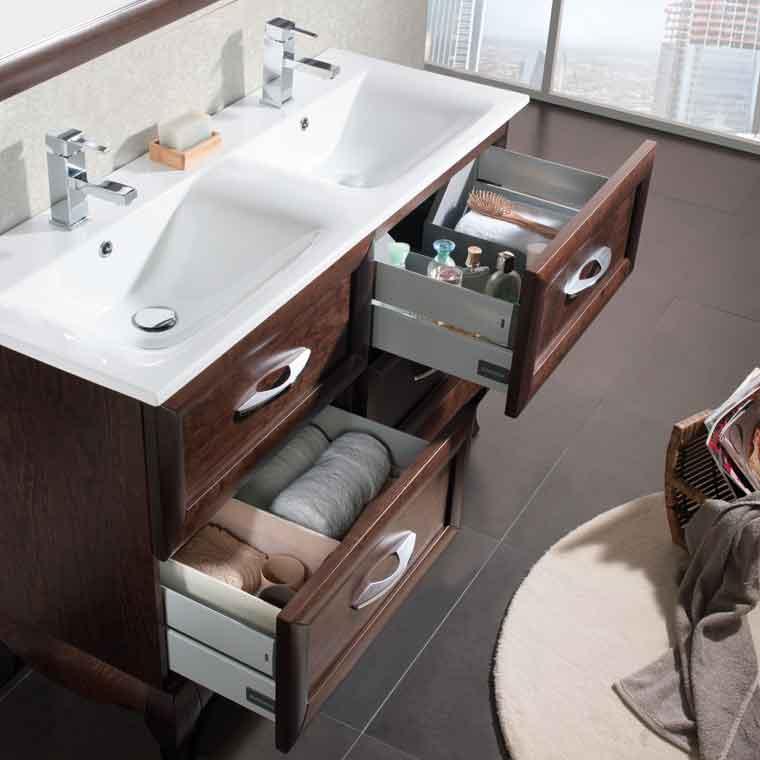 Mueble de ba o ren de 120 cm mueble de la serie de ba o for Muebles de bano completos