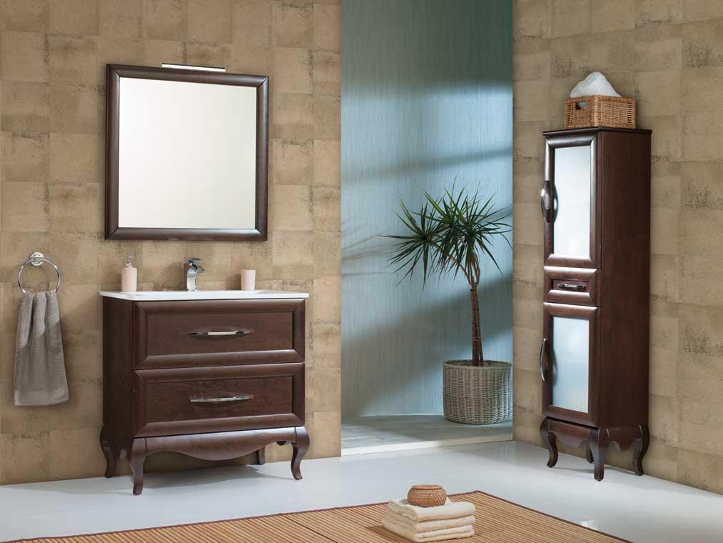 Mueble de ba o ren de 80 cm mueble de la serie de ba o ren - Mueble bano 80 cm ...