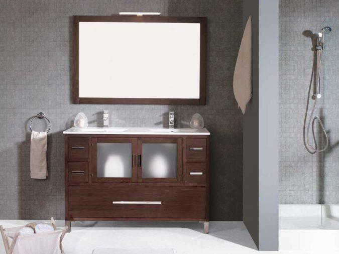 Ambiente Mueble de Baño Sara 120 cm.